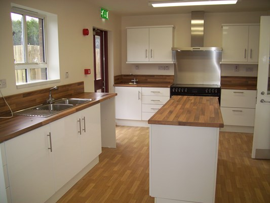 Bryans House, Supported Housing In New Mossley (Kitchen)