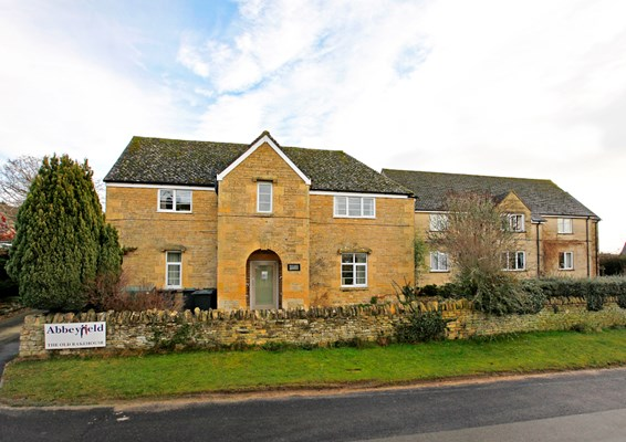 Front entrance of The Old Bakehouse, a supported house for older people in Chipping Norton