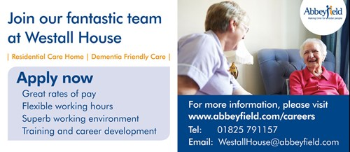 Join the team at Westall House