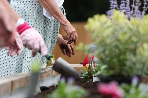 Gardening at Winnersh to keep residents active
