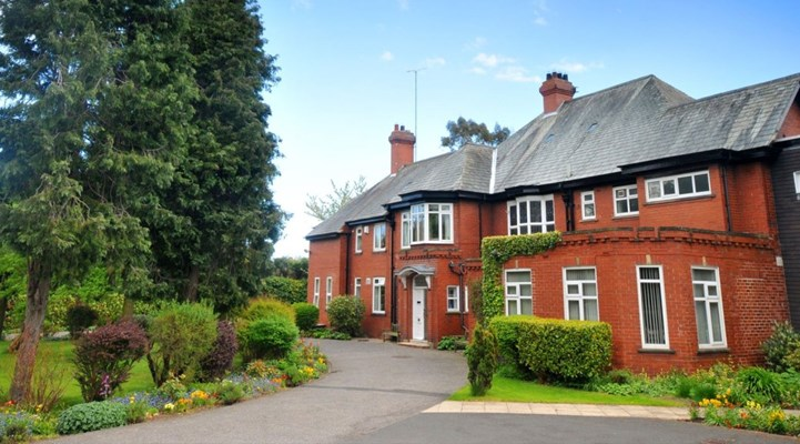 Abbeyfield Residential Care Home and the beautiful gardens