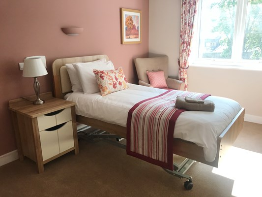 Westall House Bedroom Pink