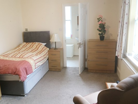 Resident Room With Ensuite At Duffield Court