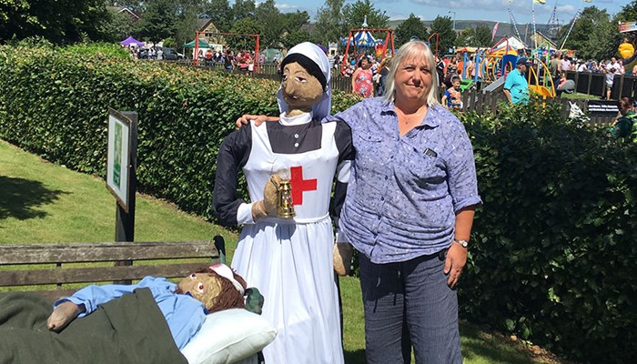 Abbeyfield House wins first place at the Garstang Scarecrow Festival 2019!