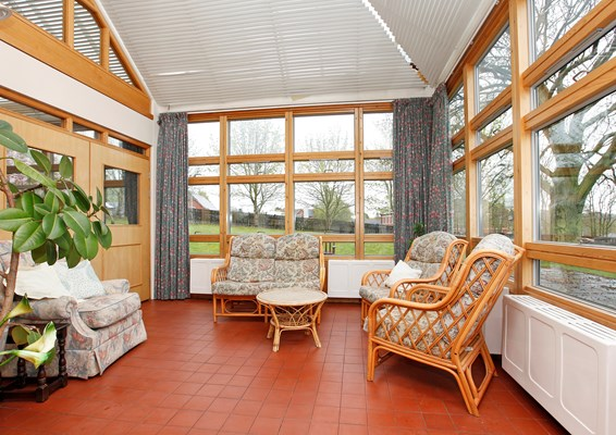 Eleanor Hodson House sun room