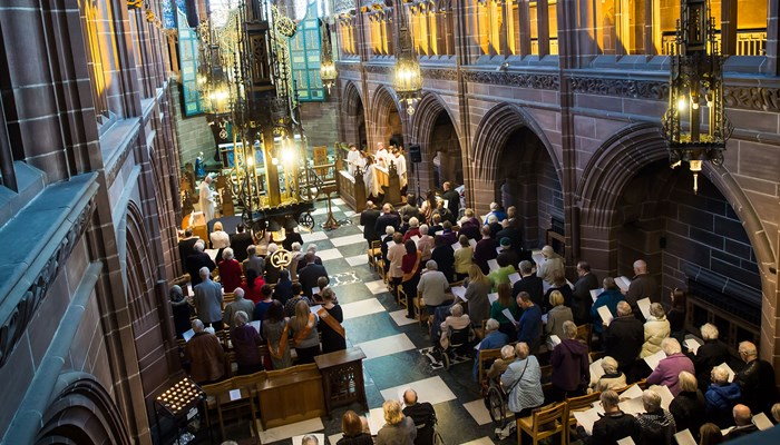 Abbeyfield's annual carol concert in Liverpool