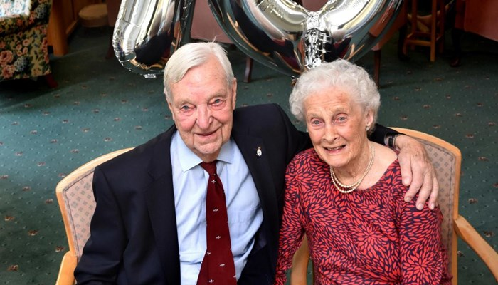 Celebrating 70 Years Together