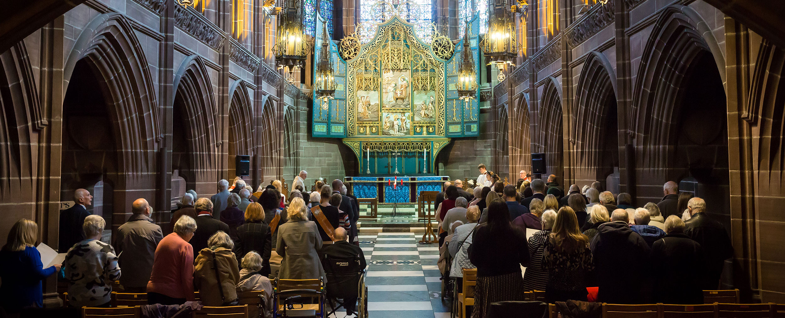 Abbeyfield Carol Service at Liverpool Cathedral