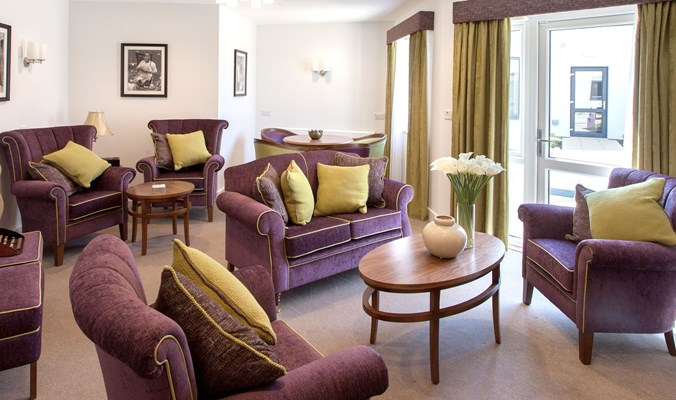 One of our communal lounges for residents to use at their leisure
