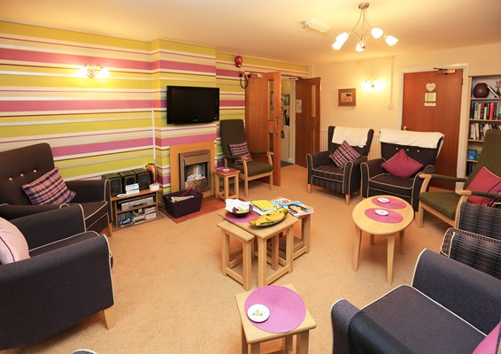 Catch up with friends in our communal lounge