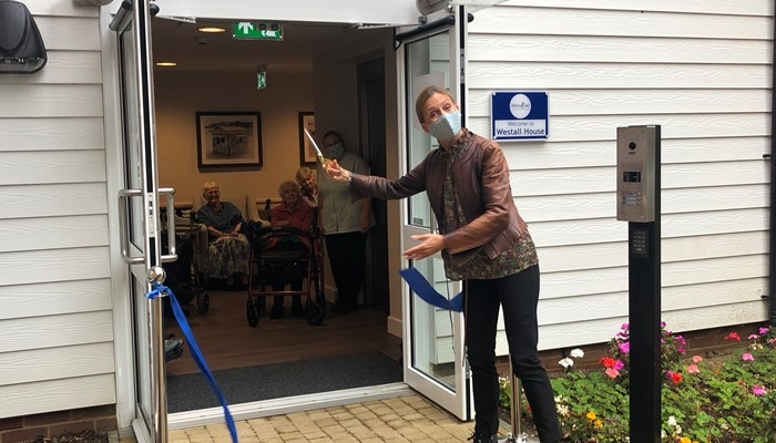Westall House dementia-friendly care wing officially opens
