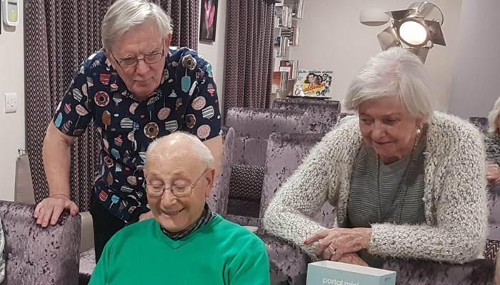 Facebook Portal Mini ensures care home residents stay connected
