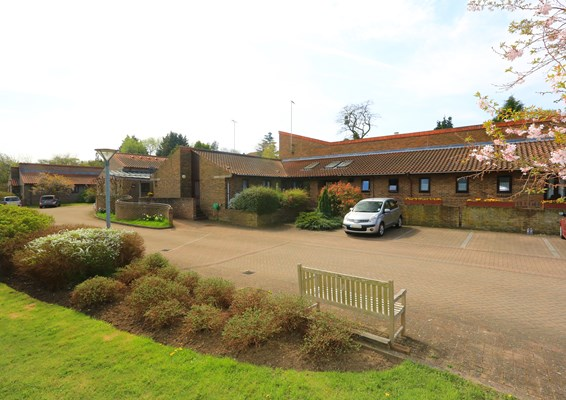 Exterior of Warburton and Clarisse Lodge, a supported house for older people in Waltham Abbey