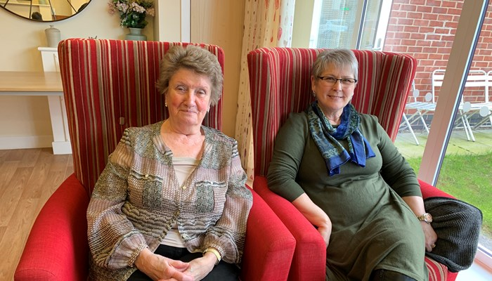 Anne & Betty's Social Club at Whiston Court